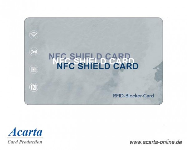 RFID-Abschirmkarte Motiv 14 Aquarell