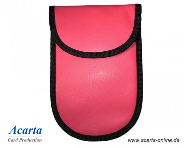 RFID-Blocker Combi Bag groß für Autoschlüssel pink
