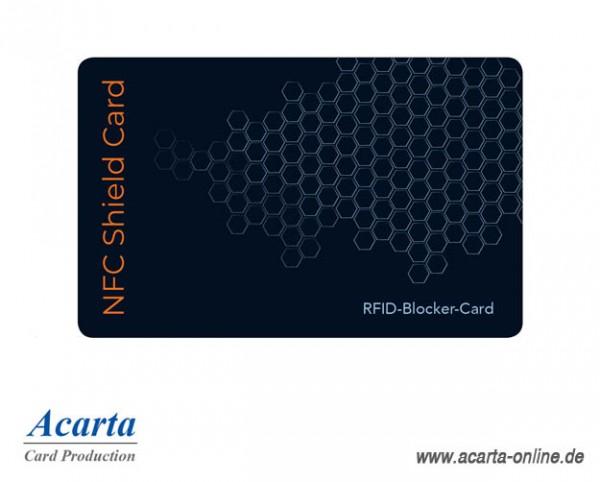 RFID-Abschirmkarte Motiv 12 Waben